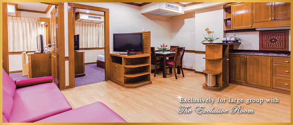 Exclusively for large group with The Exclusive Room