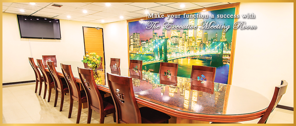 Make your function a success with The Execusive Meeting Room